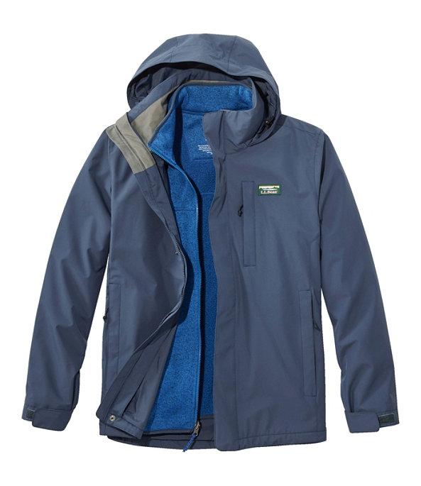Sweater Fleece 3-in-1 Jacket, Carbon Navy/Ocean Blue, large image number 0