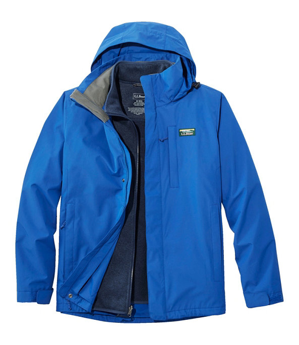 Sweater Fleece 3-in-1 Jacket, Ocean Blue/Carbon Navy, large image number 0