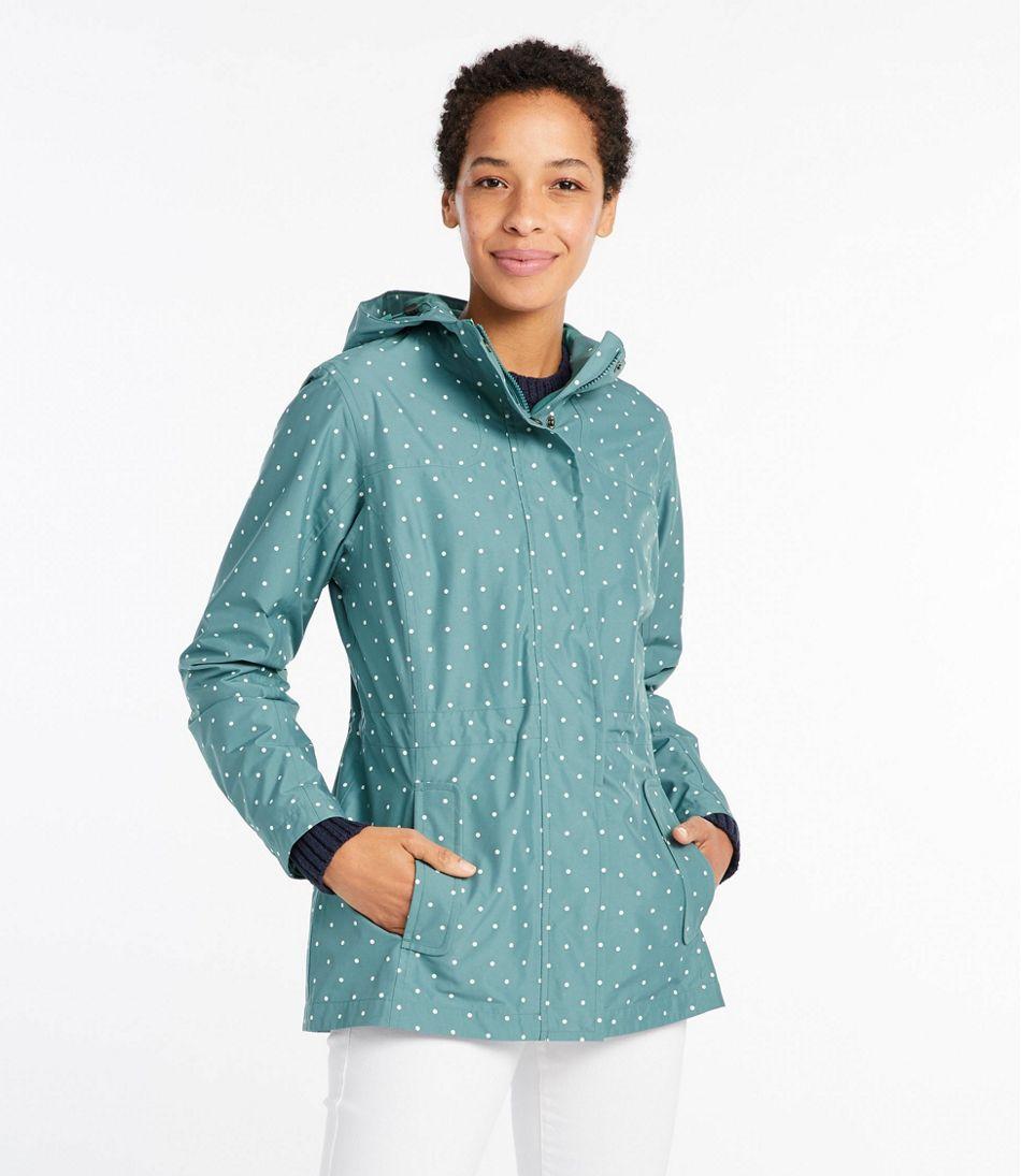Women's H2Off Rain Mesh-Lined Jacket, Print