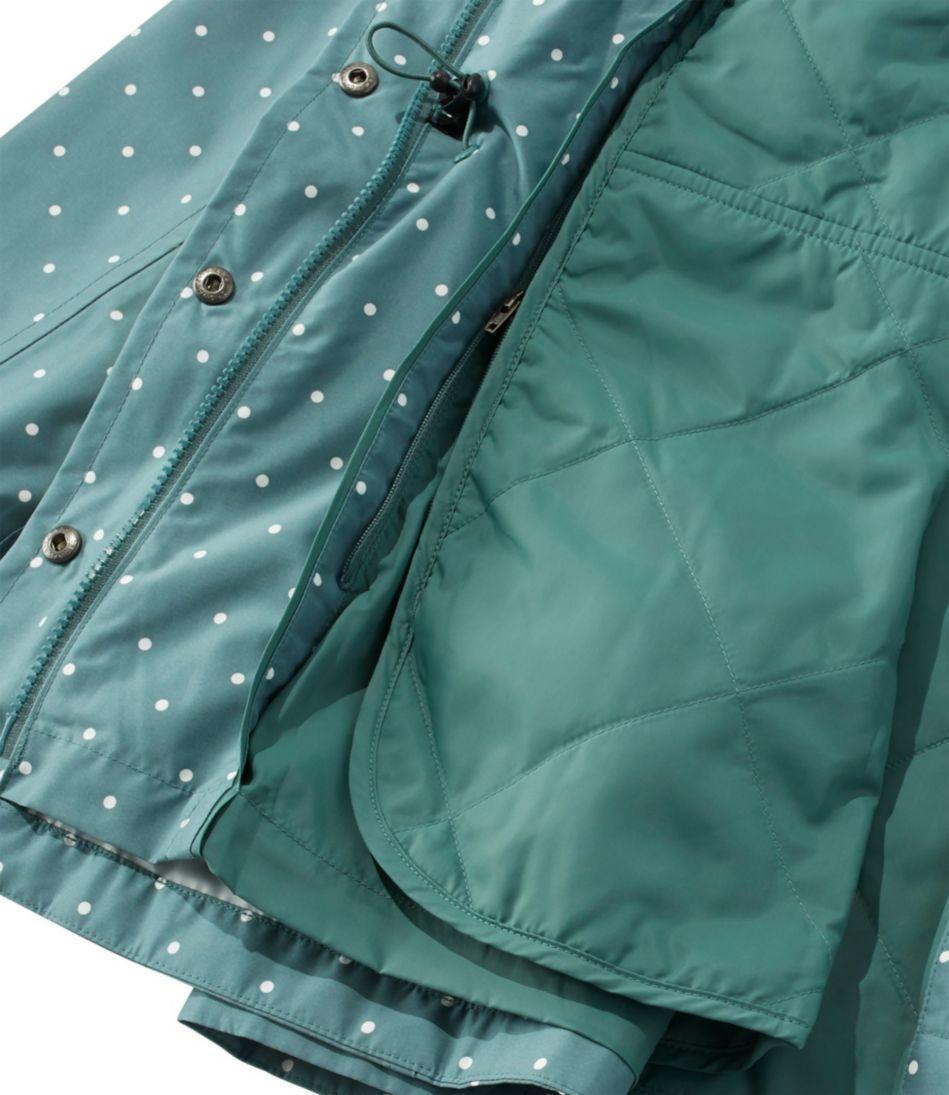 Women's H2OFF Rain PrimaLoft Lined Jacket, Print