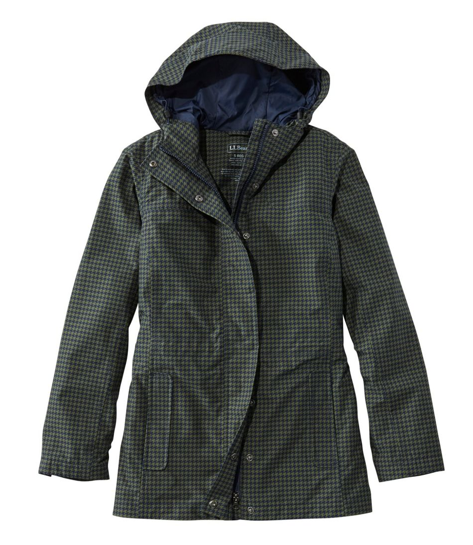 H2OFF Rain PrimaLoft Lined Jacket, Print