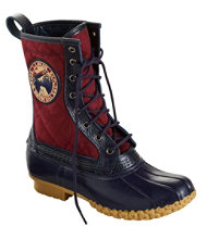 "Women's Quilted L.L.Bean Boots, 10"" Thinsulate Patch"