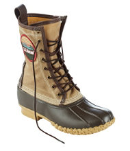 Women's Katahdin Patch Waxed-Canvas L.L.Bean Boots, 10""