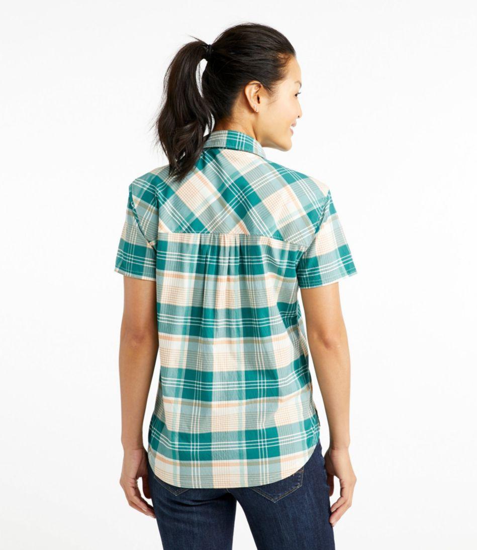 Beach Cruiser Summer Shirt, Short-Sleeve Plaid