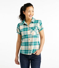 Beach Cruiser Summer Short-Sleeve Shirt, Plaid