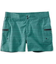 Women's Emerald Pond Amphibian Shorts, Stripe