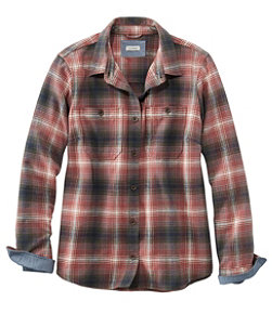 Women's Heritage Chamois Shirt, Plaid