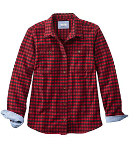 Women's Heritage Chamois Shirt, Plaid