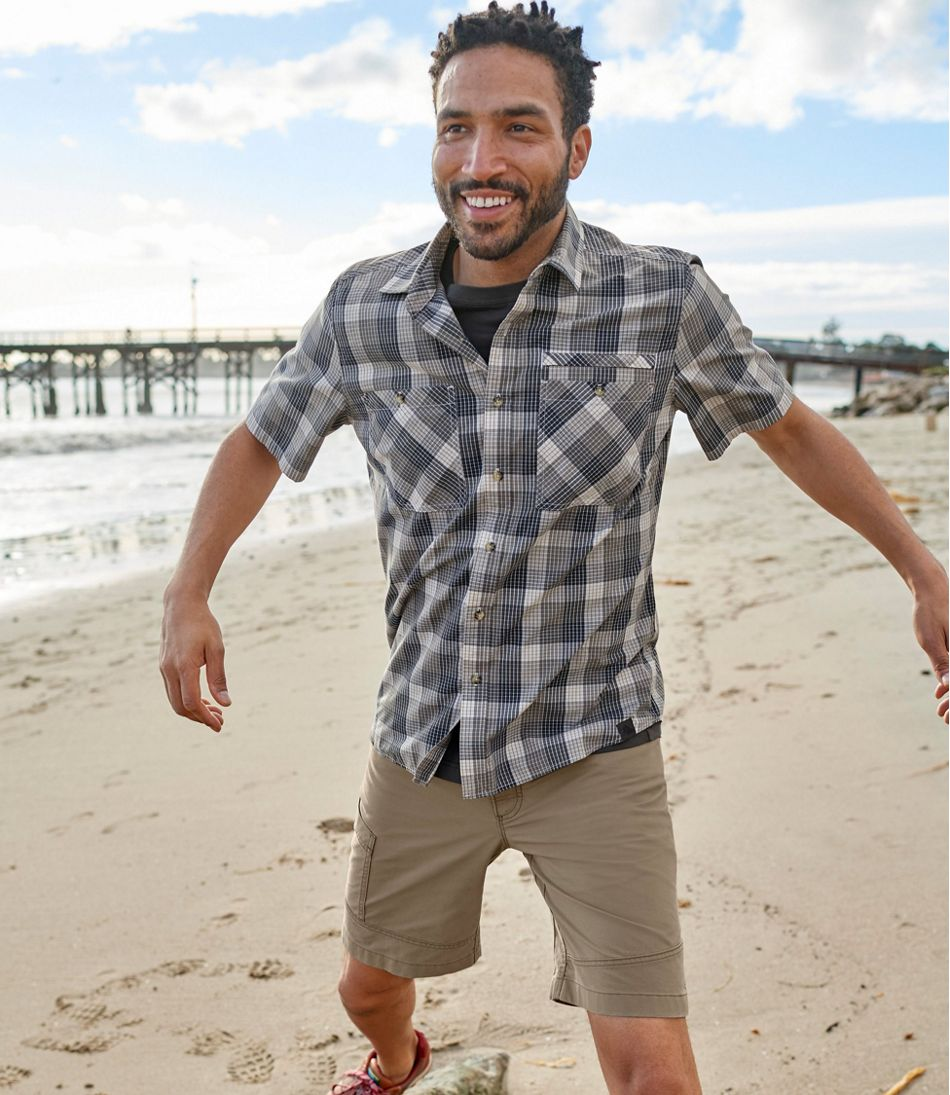 Men's Otter Cliff Short-Sleeve Shirt, Plaid