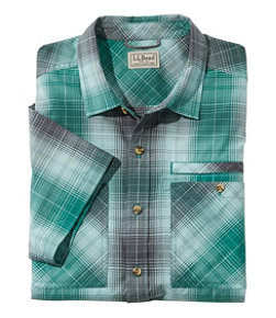 Otter Cliff Short-Sleeve Shirt, Plaid