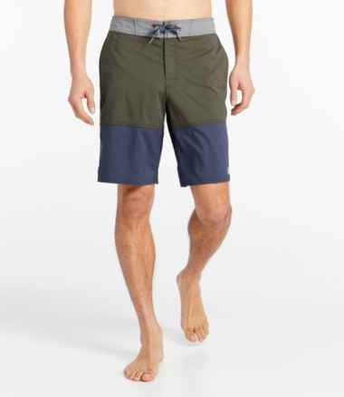 Traverse Swim Trunks, Colorblock 10""