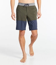 Men's Traverse Swim Trunks, Colorblock 10""