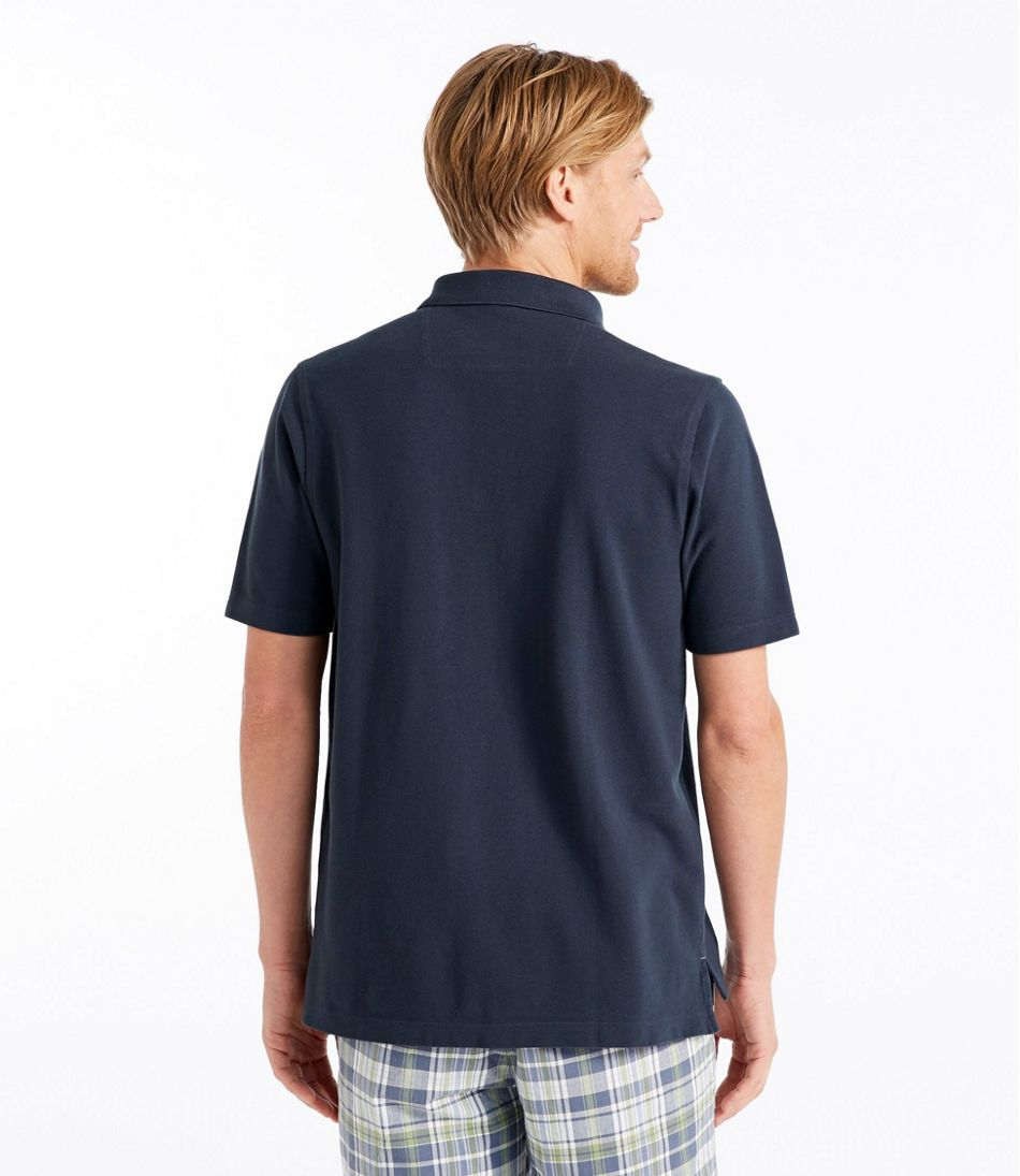 Lakewashed® Pique Polo, Short-Sleeve Slightly Fitted