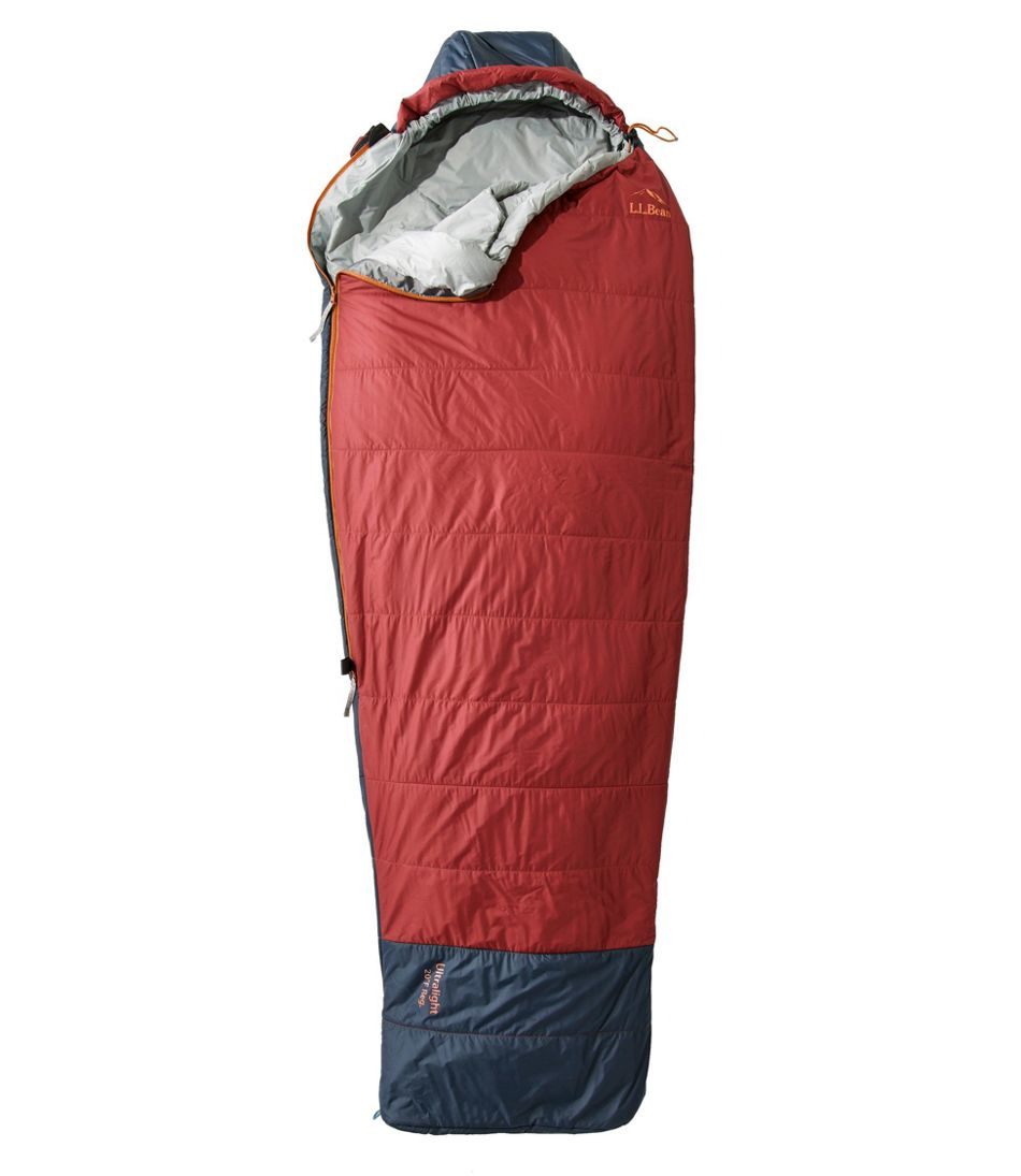 L.L.Bean Ultralight Sleeping Bag, 20° Mummy