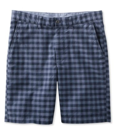 L.L.Bean Summer Shorts, Standard Fit Plaid
