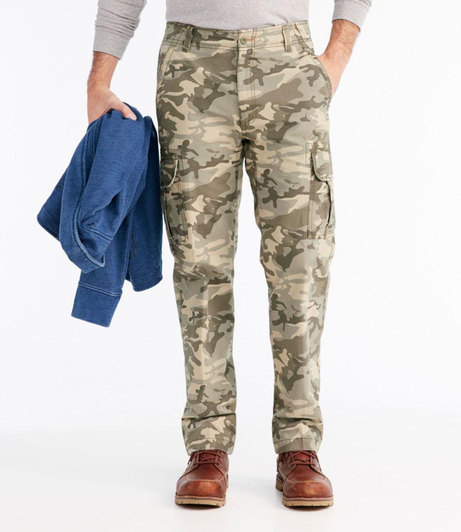 L.L.Bean Allagash Cargo Pants, Natural Fit Camouflage