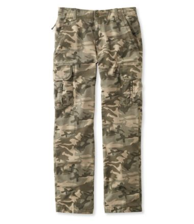 L.L.Bean Allagash Cargo Pants, Natural Fit Camouflage