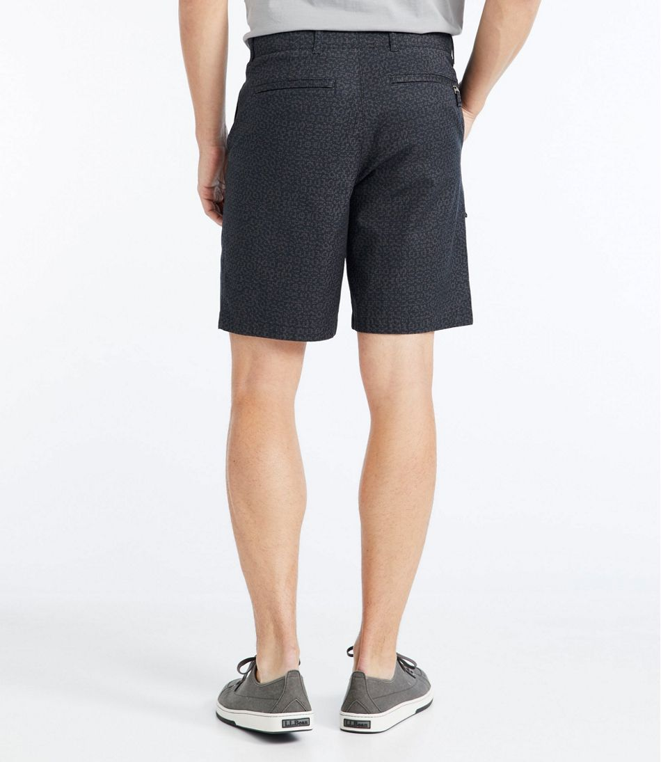 Men's Stonecoast Khaki Shorts, Classic Fit Print