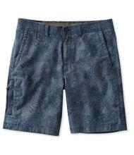 Stonecoast Khaki Shorts, Classic Fit Print