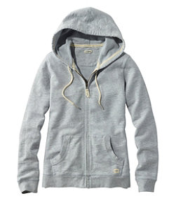 Women's Organic Cotton Hooded Sweatshirt, Long-Sleeve