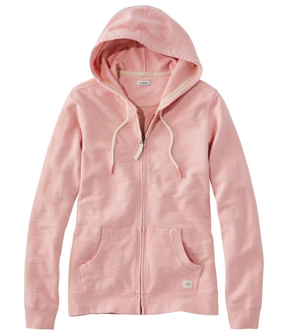 Women's Organic Cotton Hooded Sweatshirt, Long-Sleeve