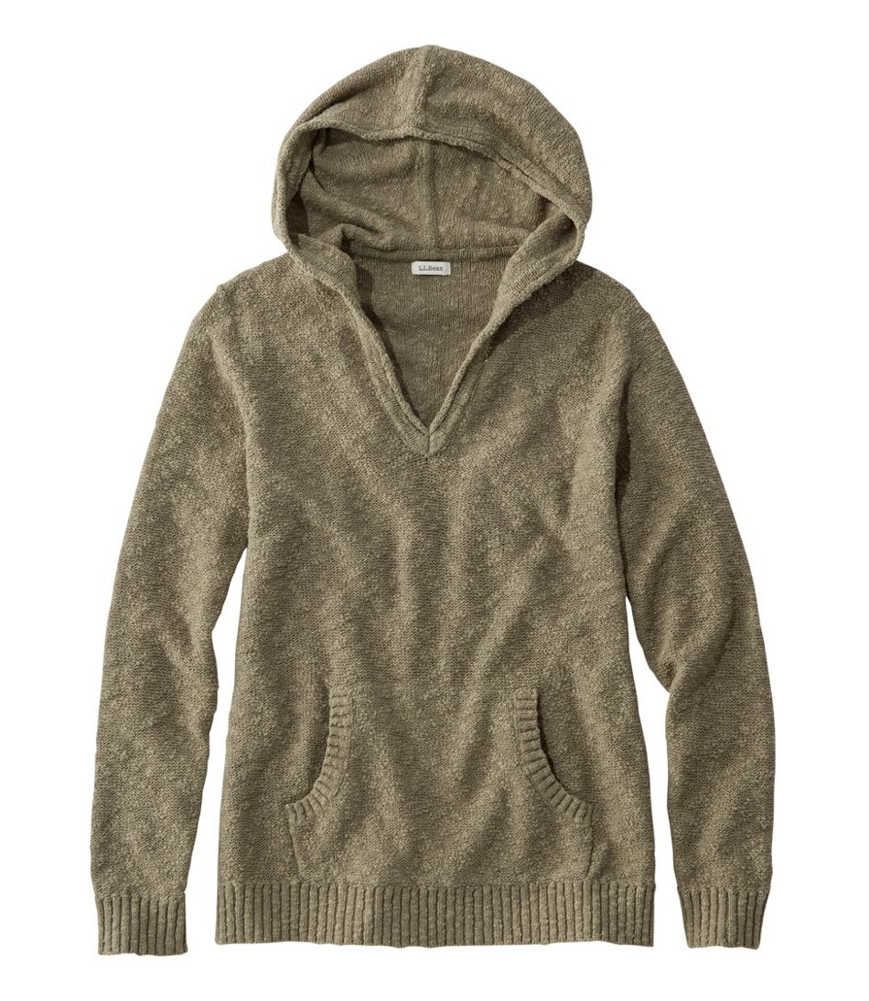 Midweight Cotton Slub Hooded Pullover
