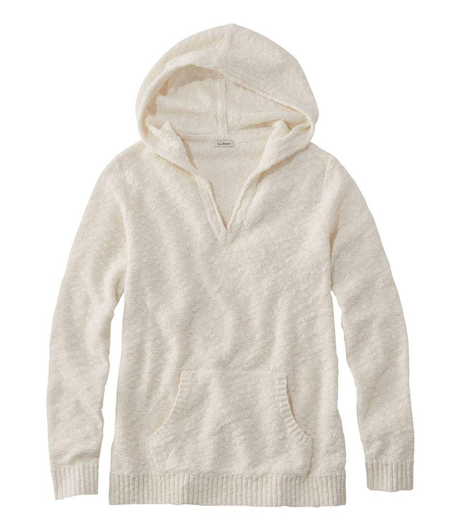 Midweight Cotton Slub Hooded Pullover