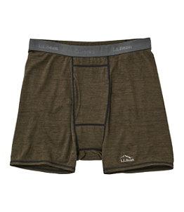 Men's Cresta Wool Ultralight Boxer Brief, Stripe