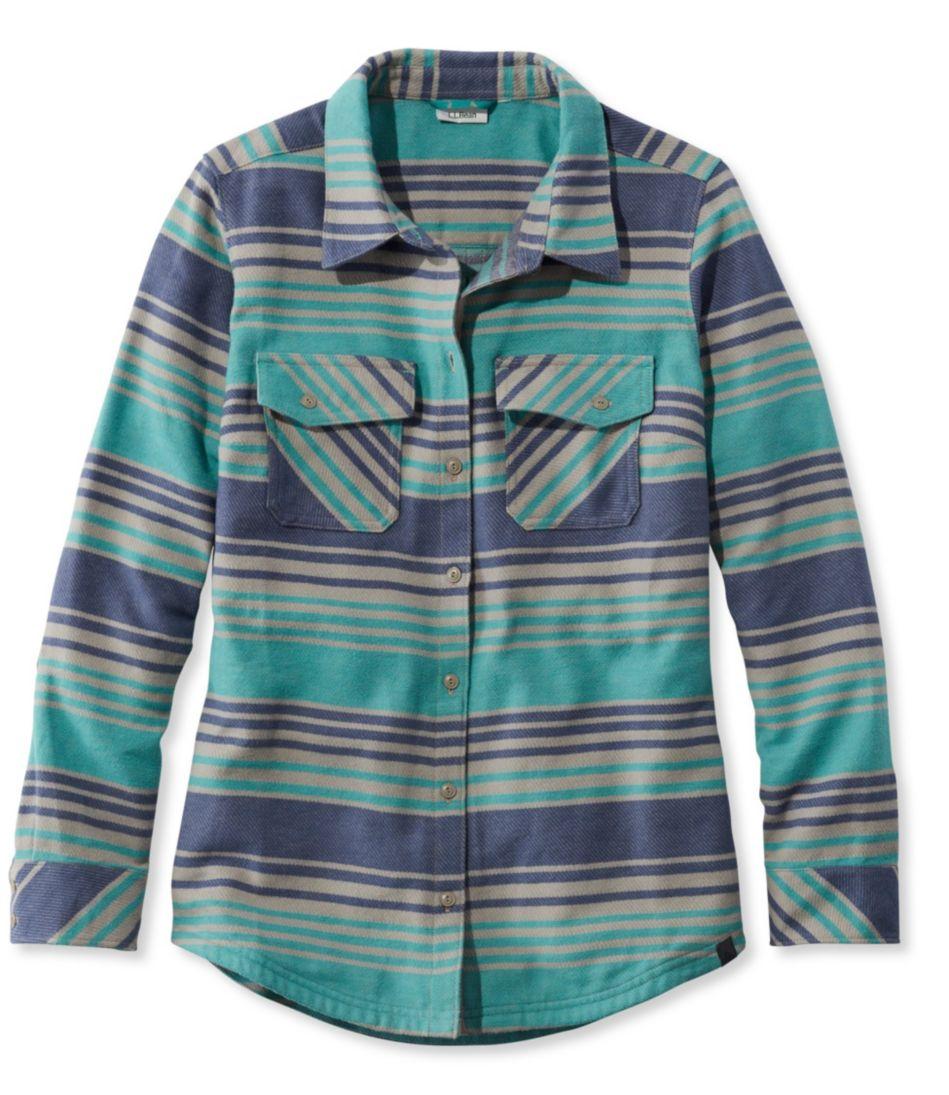 Women's Rangeley Camp Performance Flannel Shirt, Stripe