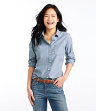Classic Cotton Shirt, Chambray