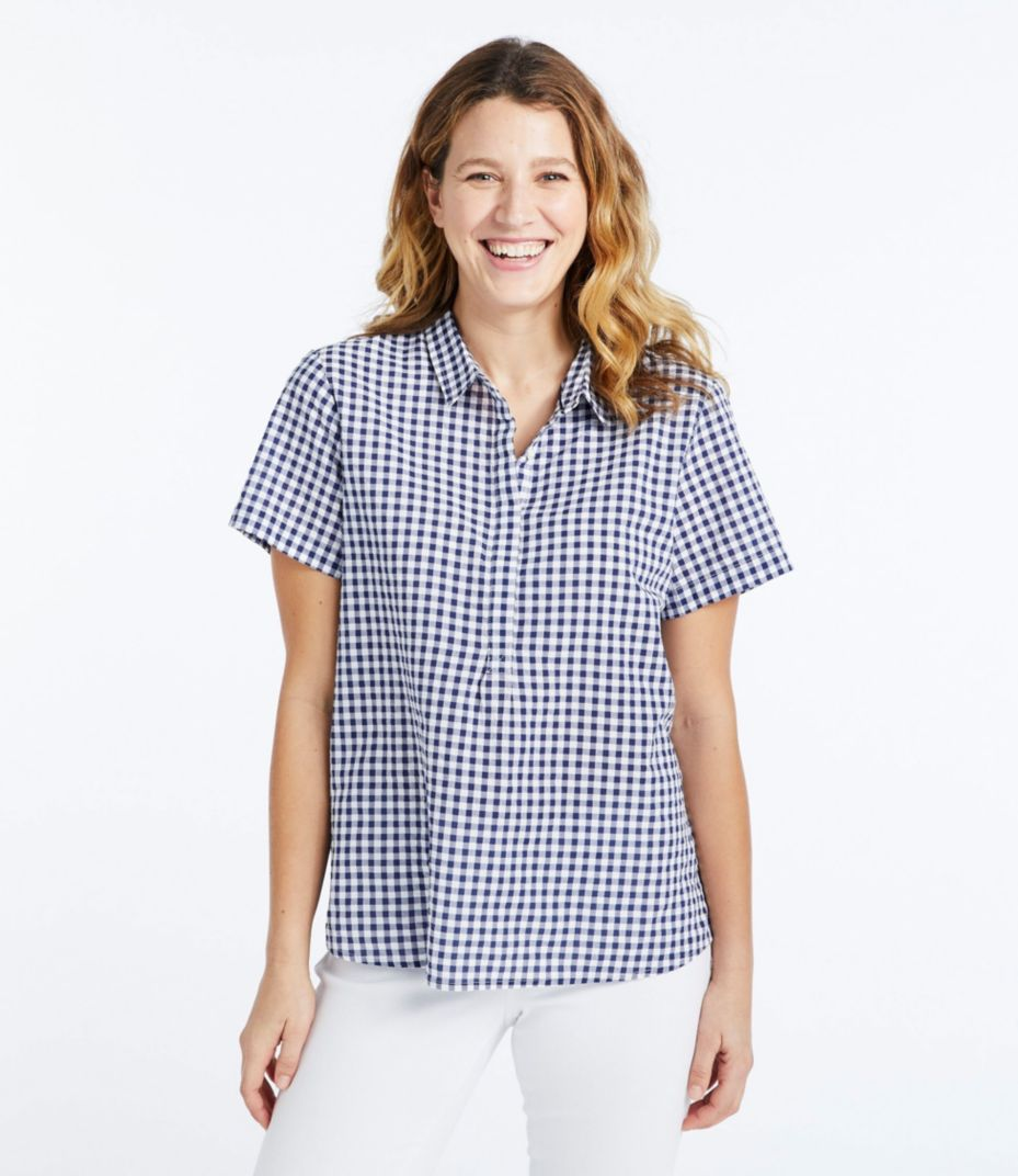 fa3a08982eb Textured Cotton Popover Shirt