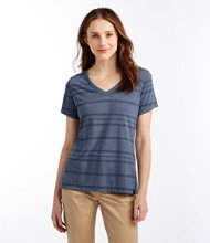 Long Weekend Tee, Short Sleeve, Spaced Stripe
