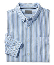 Signature Washed Oxford Cloth Shirt, Stripe