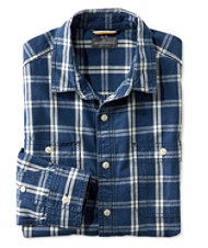Signature Chambray Shirt, Plaid