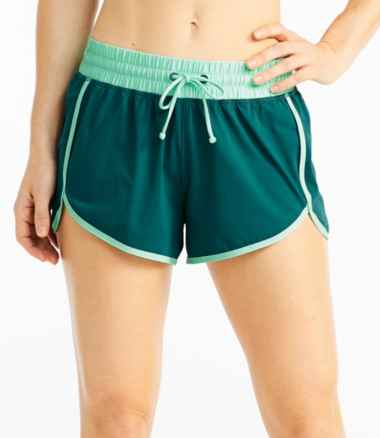 Women's ReNew Swimwear, Shorts Colorblock