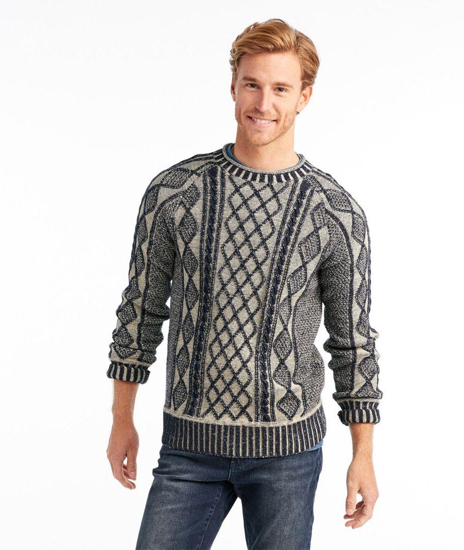 Signature Rollneck Fisherman Sweater, Plaited