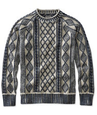 Signature Rollneck Fisherman Sweater, Plaited