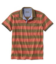 Signature Pocket Polo, Short-Sleeve Stripe