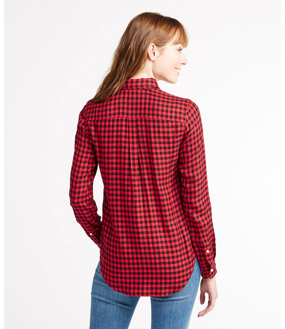Signature Drapey Button-Front Shirt