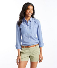 Signature Button-Front Pocket Shirt