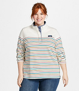 Women's Soft Cotton Rugby, Stripe