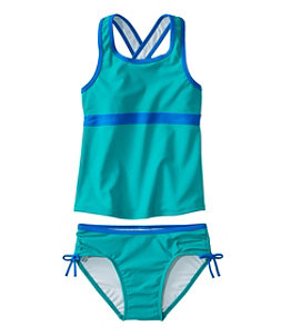 Girls' Tide Surfer Swimsuit, Two-Piece