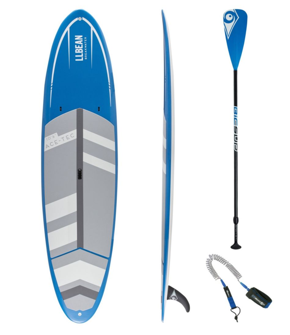 """L.L.Bean Breakwater ACE-TEC Stand-Up Paddleboard Package, 10'6"""""""