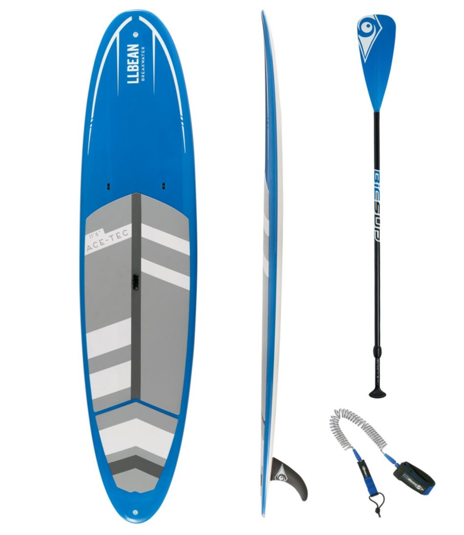L.L.Bean Breakwater ACE-TEC Stand-Up Paddleboard Package, 11'6""