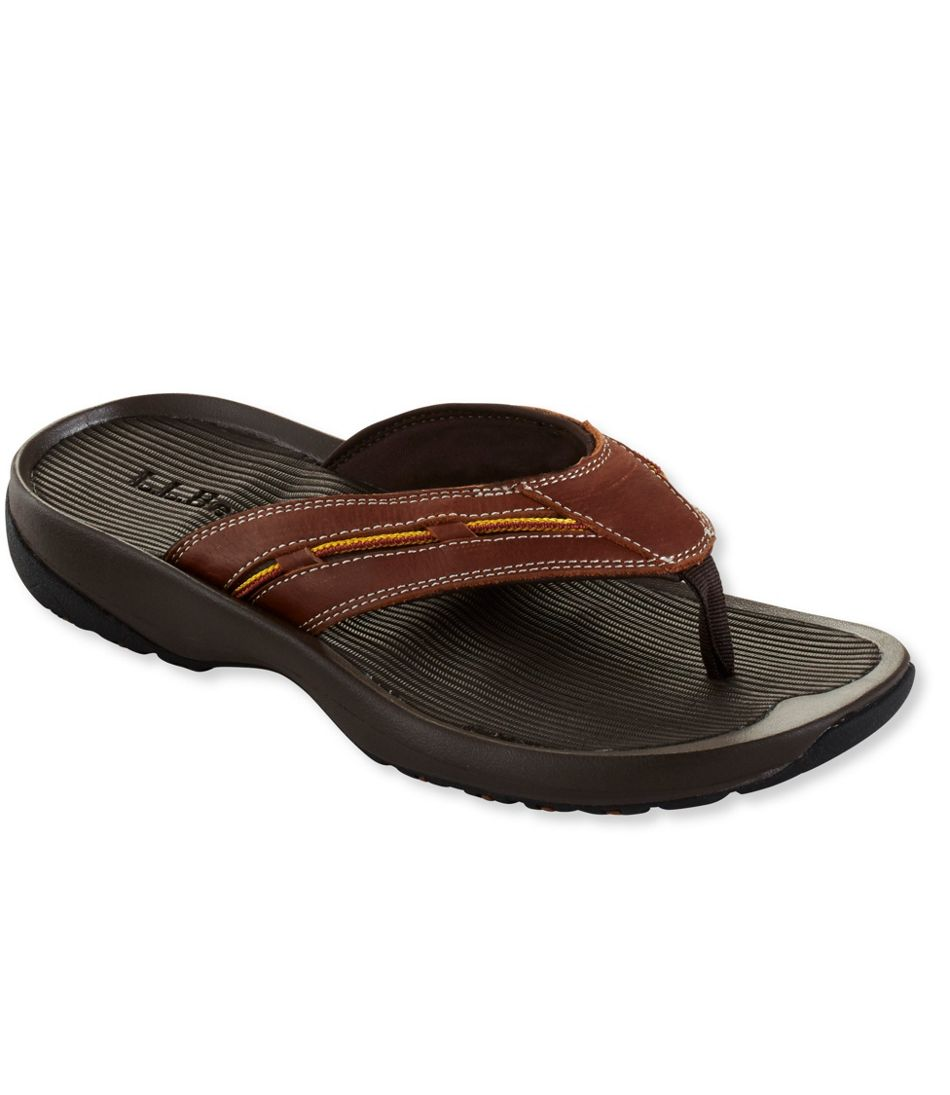 Freeport 1912 Flip-Flop Sandals, Leather