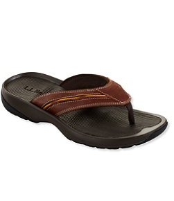 Freeport 1912 Flip-Flop Sandals, Leather