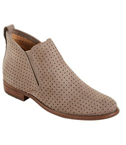Westport Perforated Ankle Boots, Nubuck