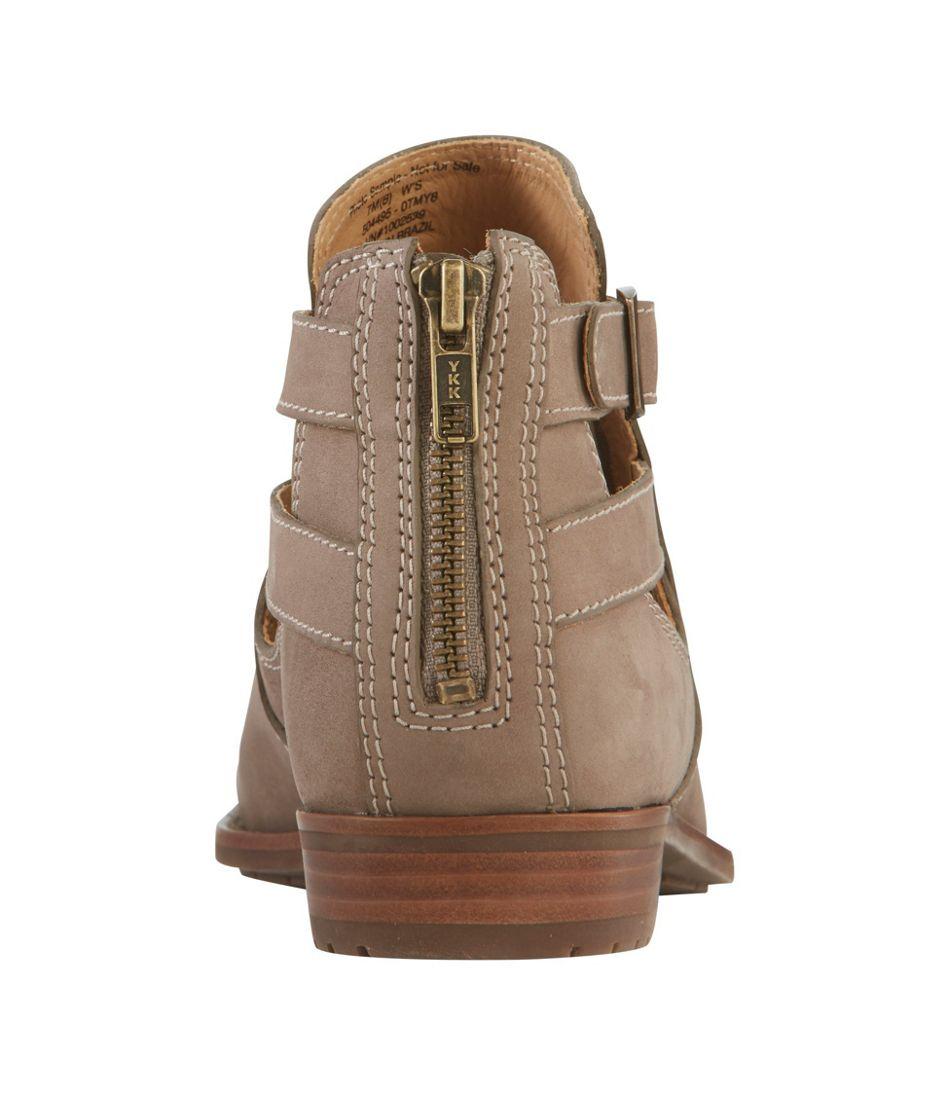 Westport Sandalized Nubuck Ankle Boots