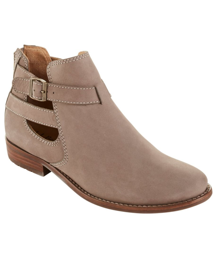 Westport Sandalized Nubuck Ankle Boots
