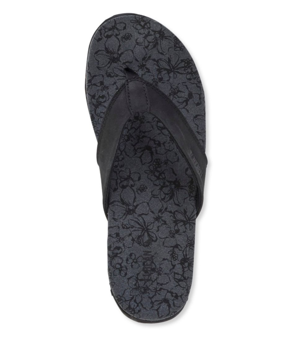 Women's Runabout Flip-Flops, Leather